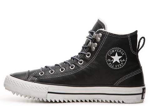Do winter in classic style with added warmth of a fleece lining from the Converse  Chuck