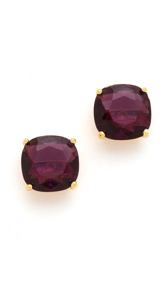 Perfect Fall Color Kate Spade New York Small Square Stud Earrings