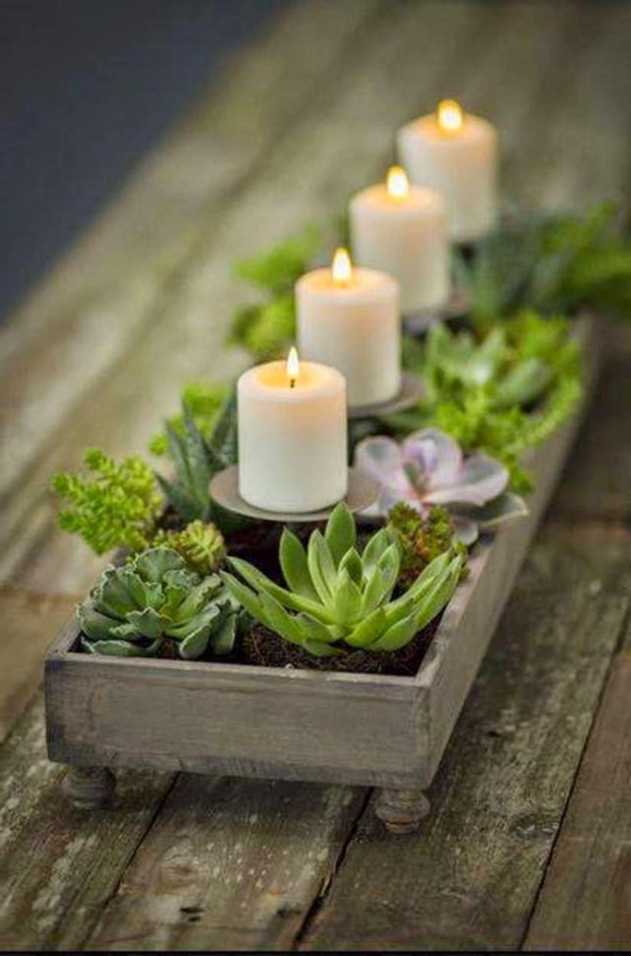 35 creative diy chistmas table centerpieces ideas christmas rh pinterest com
