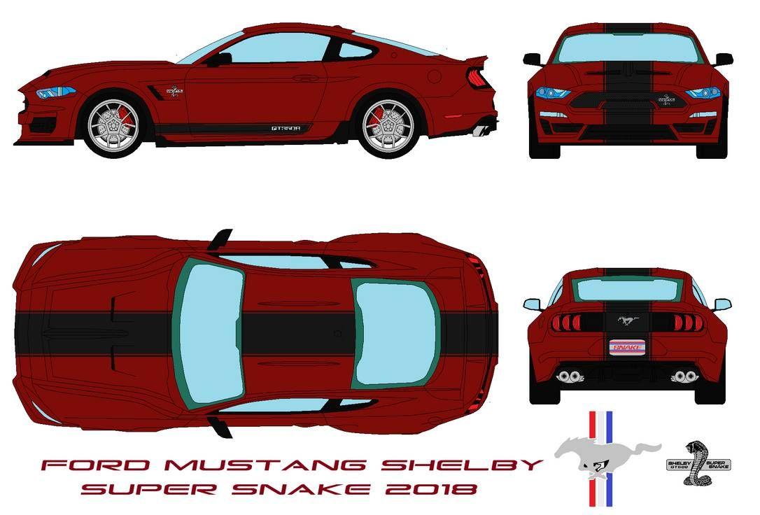 Https Www Deviantart Com Bagera3005 Art Ford Mustang Shelby Super Snake 2018 846375508 Mustang Shelby Ford Mustang Shelby Ford Mustang