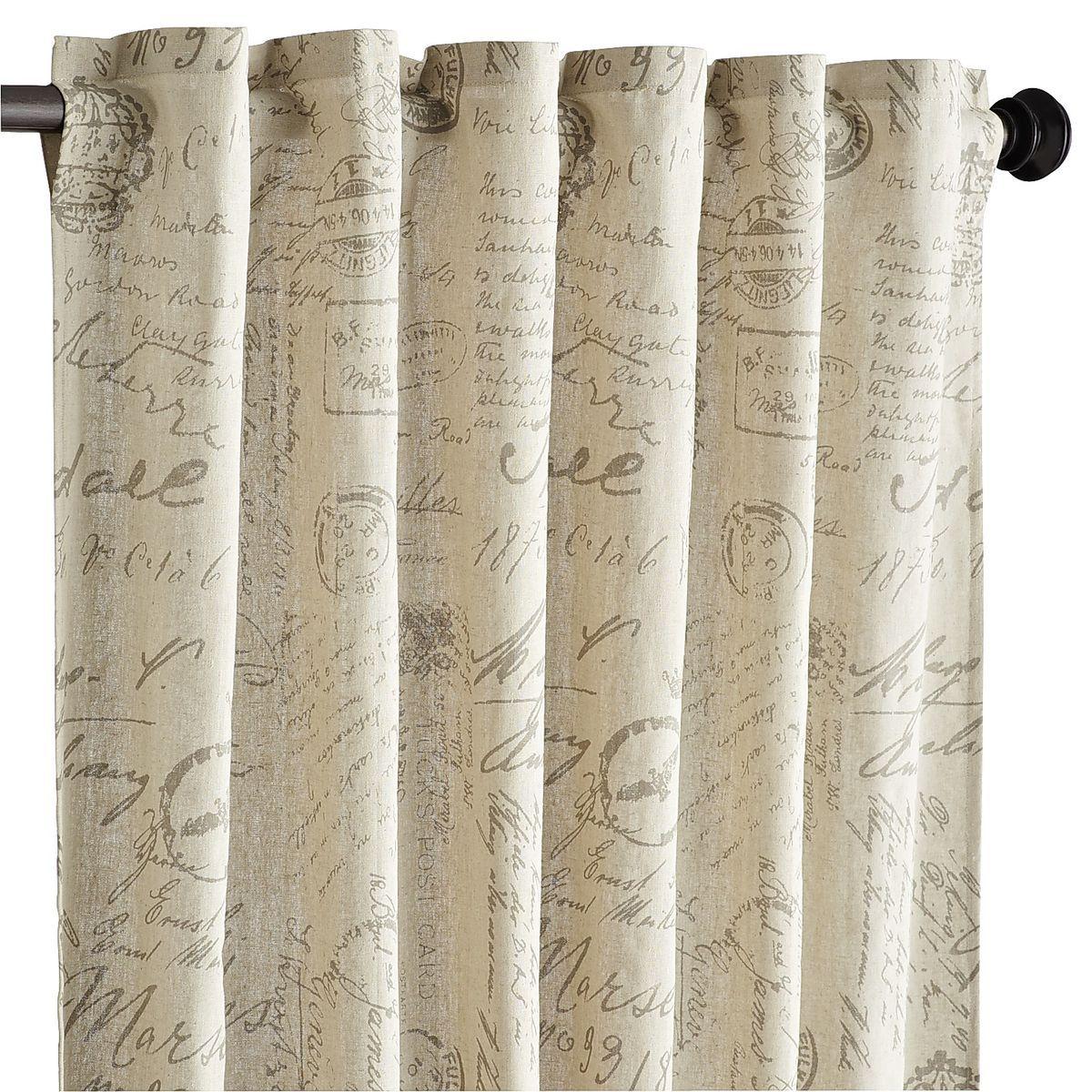 amelie curtain natural pier 1
