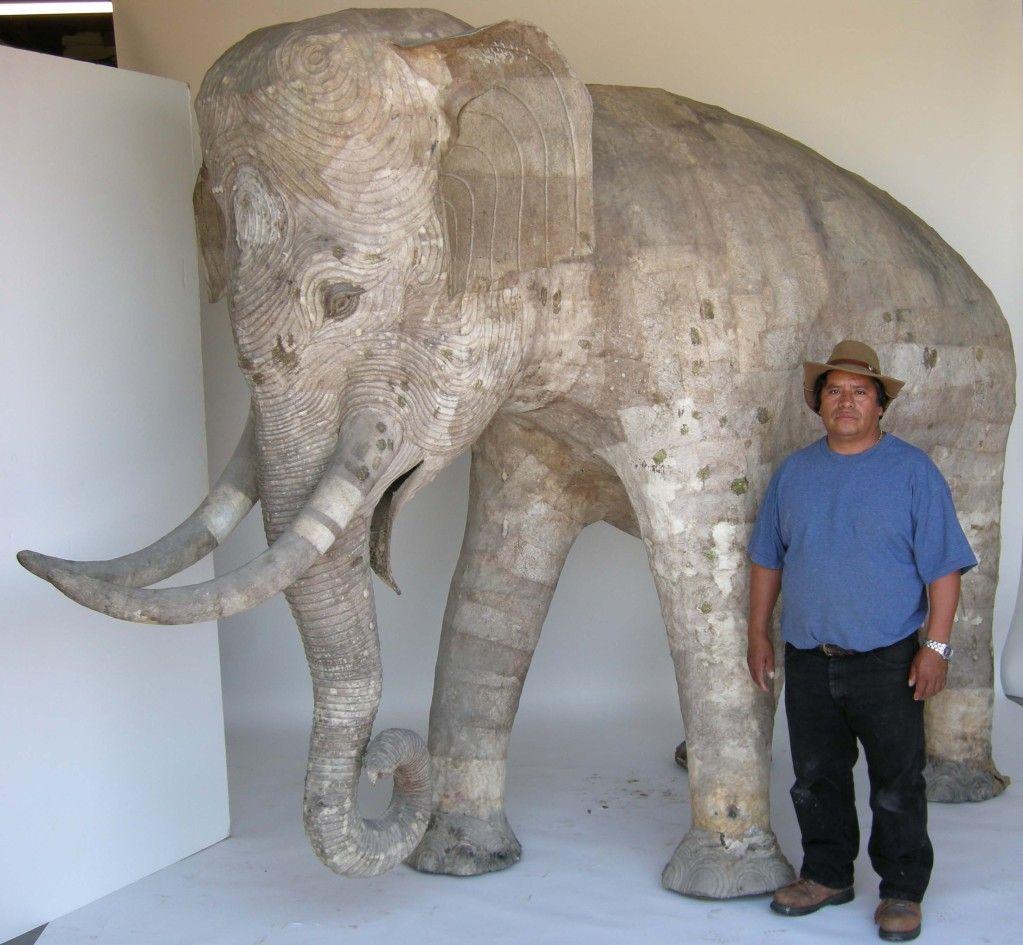 Life Size Papier Mache Elephant Papier Mache Paper
