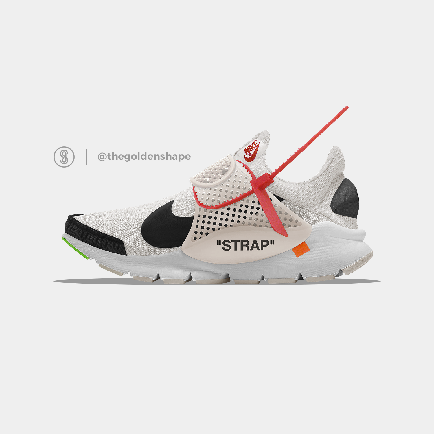 the latest 73c0e d3519 Off-White x Nike Sock Dart The Thirteen