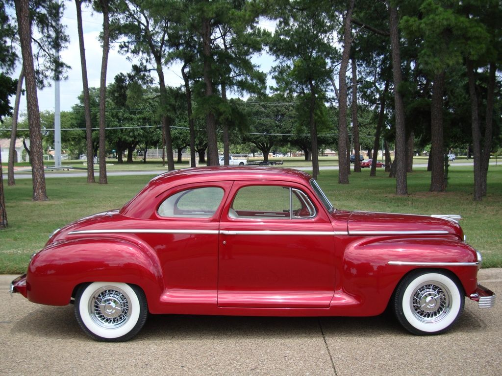 1948 PLYMOUTH D. COUPE Maintenance of old vehicles: the material for ...