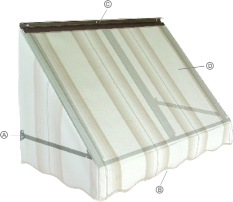 Fabric Awnings - NuImage Awnings: Quality made in the USA ...