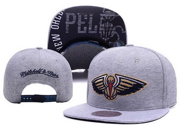 NBA New Orleans Pelicans Snapback Gray1  dc554aeb637c