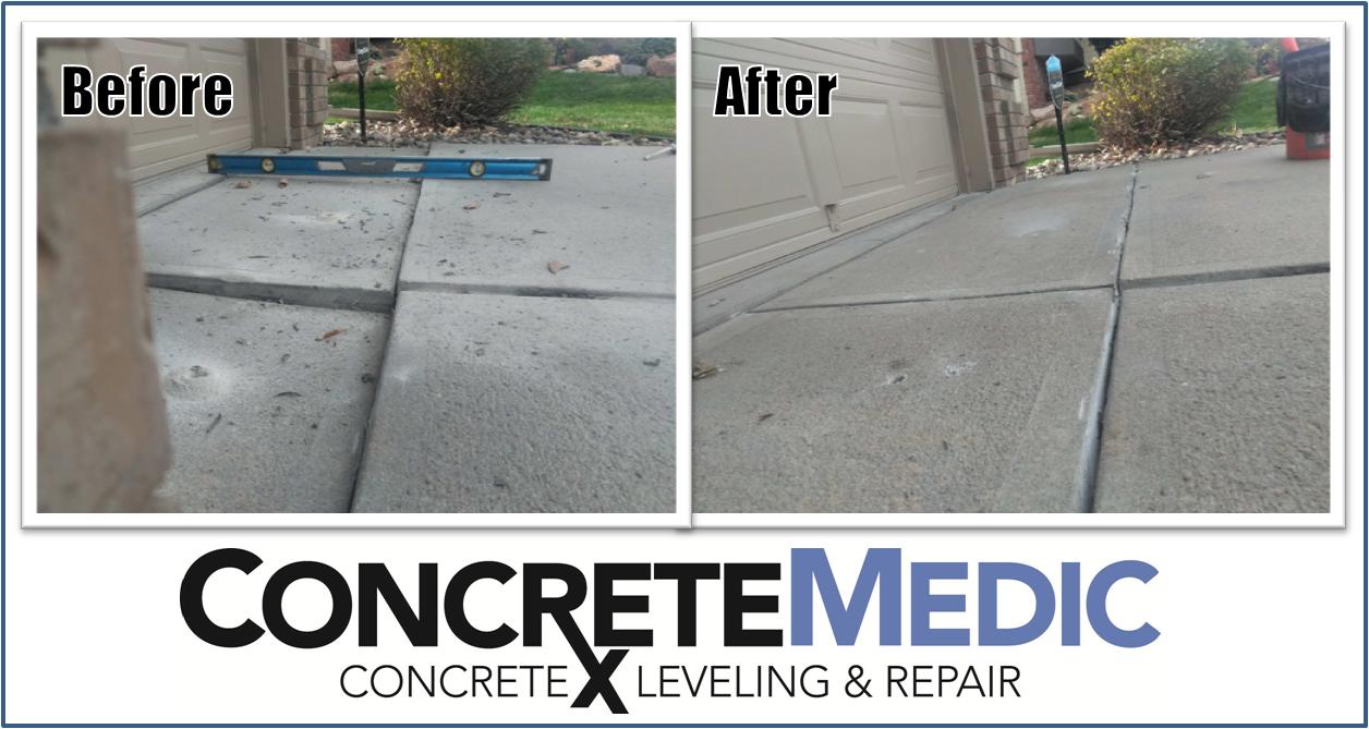 If You Live In The Omaha Ne Metro Area And Happen To Have A 3 Car Garage It S Likely That You Ve Seen A Problem Like This Driveway Repair Mudjacking Concrete