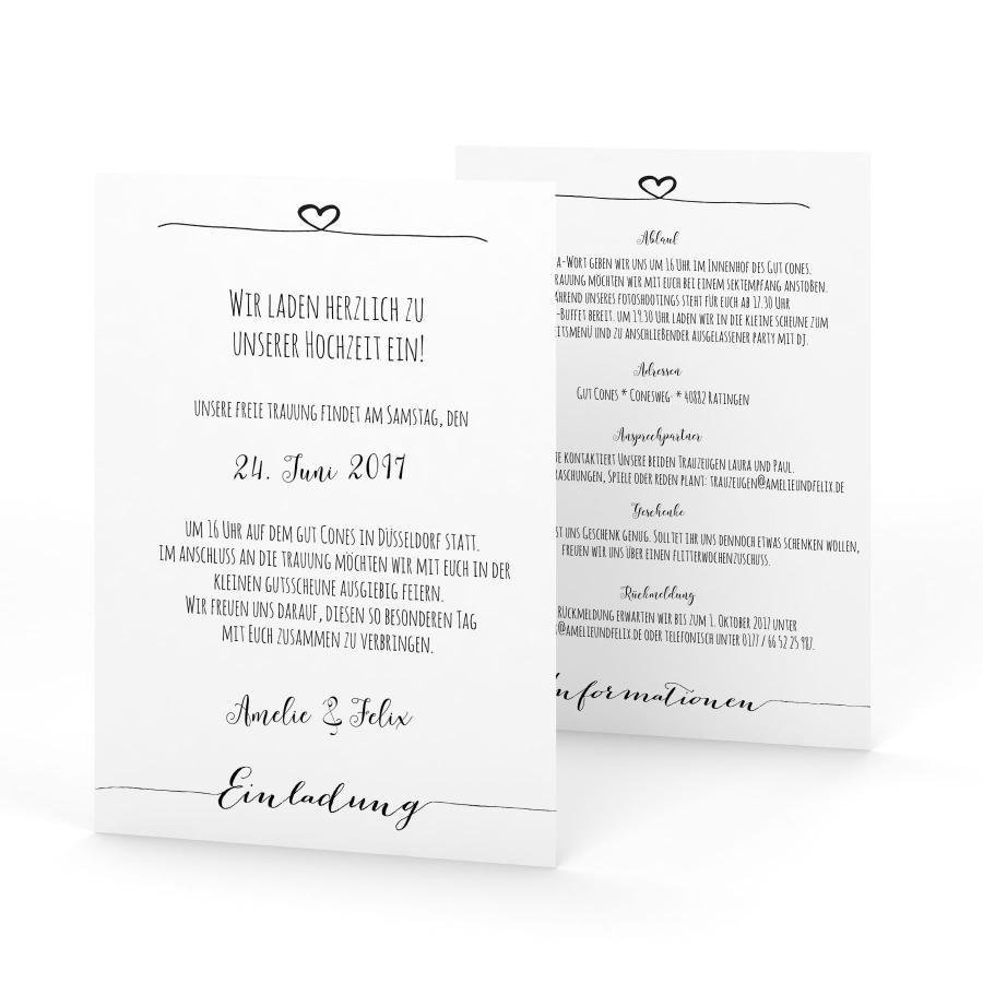 Einladung Mit Rückmeldung