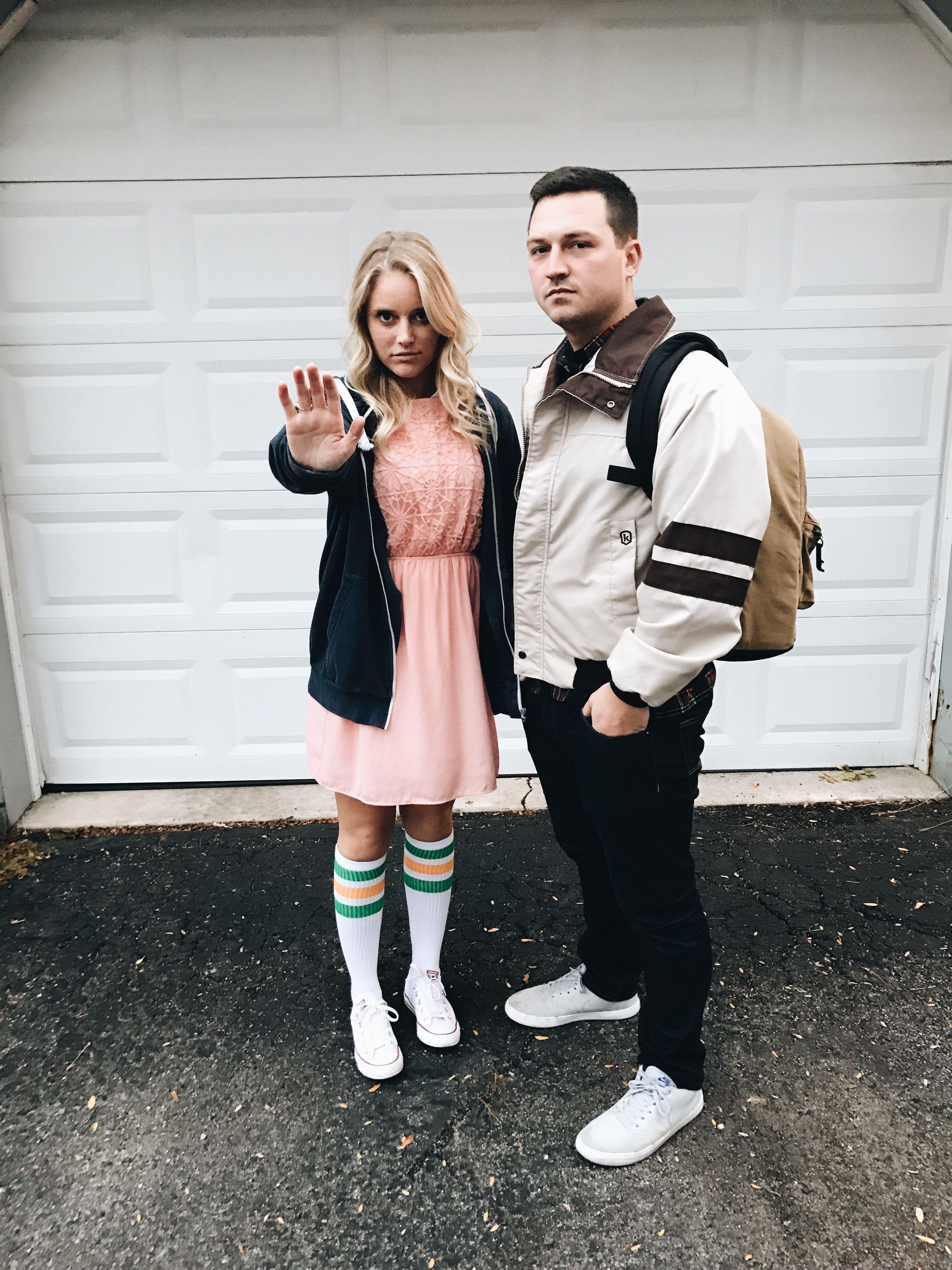 Stranger Things , Eleven \u0026 Mike DIY Costume in 2019