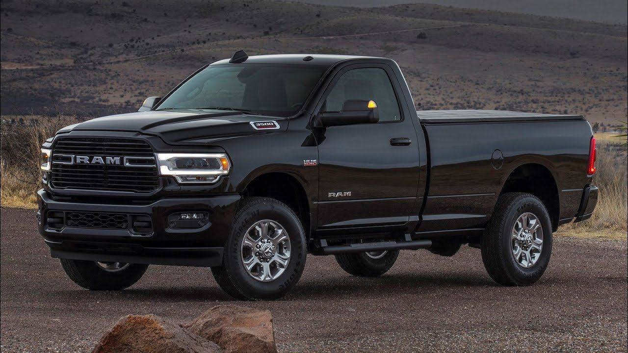 2020 Ram 4500 5500 Interior Upgrades Spied Pickuptrucks