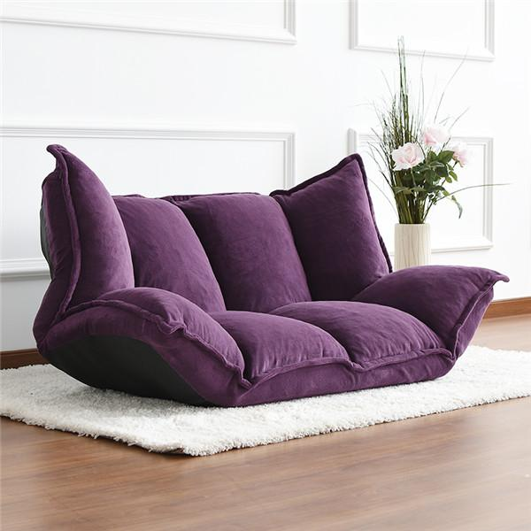 Modern Japanese Foldable Foam Futon Sofa Bed With Arms