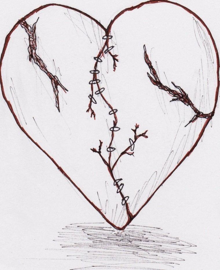 Herz Tattoo: Ideen für eine kleine stilvolle Tattoo  #ideen #kleine #stilvolle #tattoo