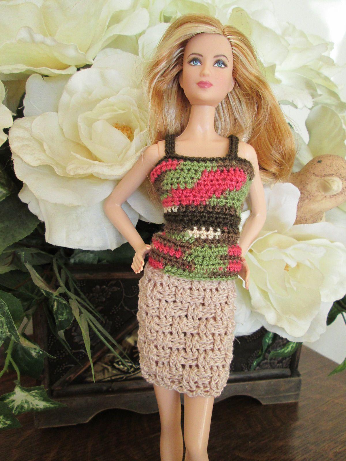Ravelry: Barbie Skirt Stitch Variations by Vicki Johnson