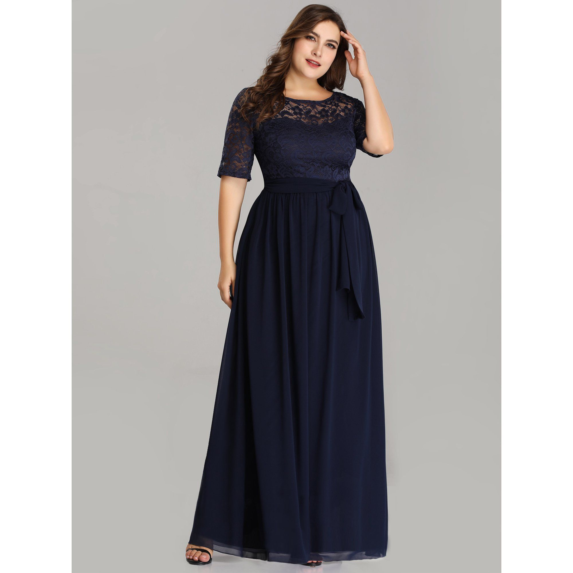 Ever Pretty Ever Pretty Womens Plus Size Mother Of The Bride Dresses For Women 07624 Navy Blue Us16 Walmart Com In 2021 Plus Size Evening Gown Maxi Dress Evening Chiffon Cocktail Dress [ 2000 x 2000 Pixel ]