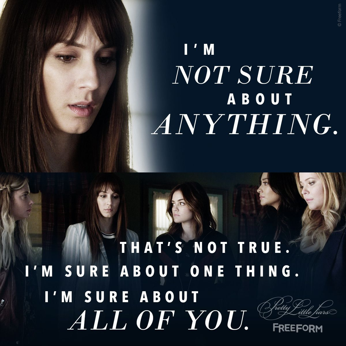 Pretty Little Liars Quotes: Pretty Little Liars Quotes Friendship, Spencer, 7x19, #PLL