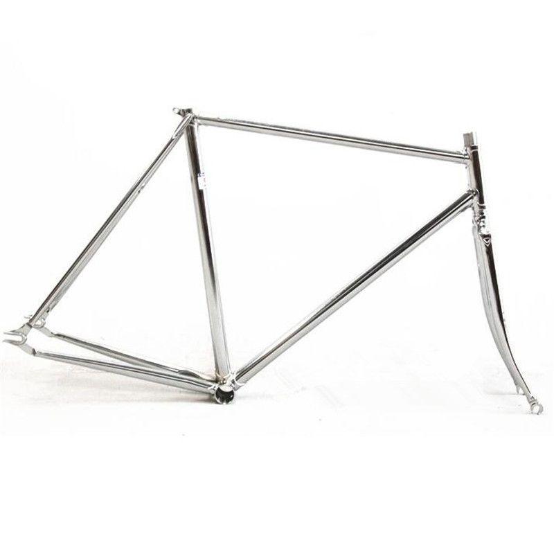 Fixed Gear Frame Bicicleta Fork Columbus Cromor Chromoly Lug Pursuit ...