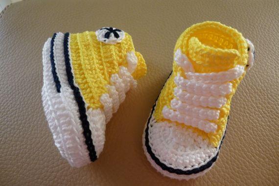zapatillas converse amarillas niño