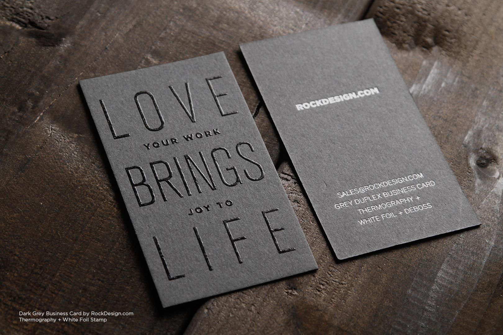 Typographic visiting card template rockdesign luxury business card typographic visiting card template rockdesign luxury business card printing colourmoves