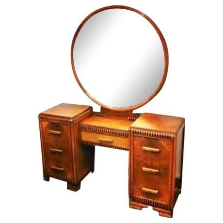 Image of Art Deco Vanity Art Deco Furniture Pinterest Art deco - Used Bedroom Sets