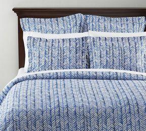 Pottery Barn Braid Duvet Cover Sham Blue On Shopstyle Com Duvet Covers Duvet Bed Pillows