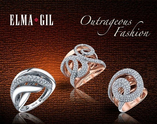 Elma-Gil Jewelry Available at Mike's Jewelry www.mikesjewelry.com