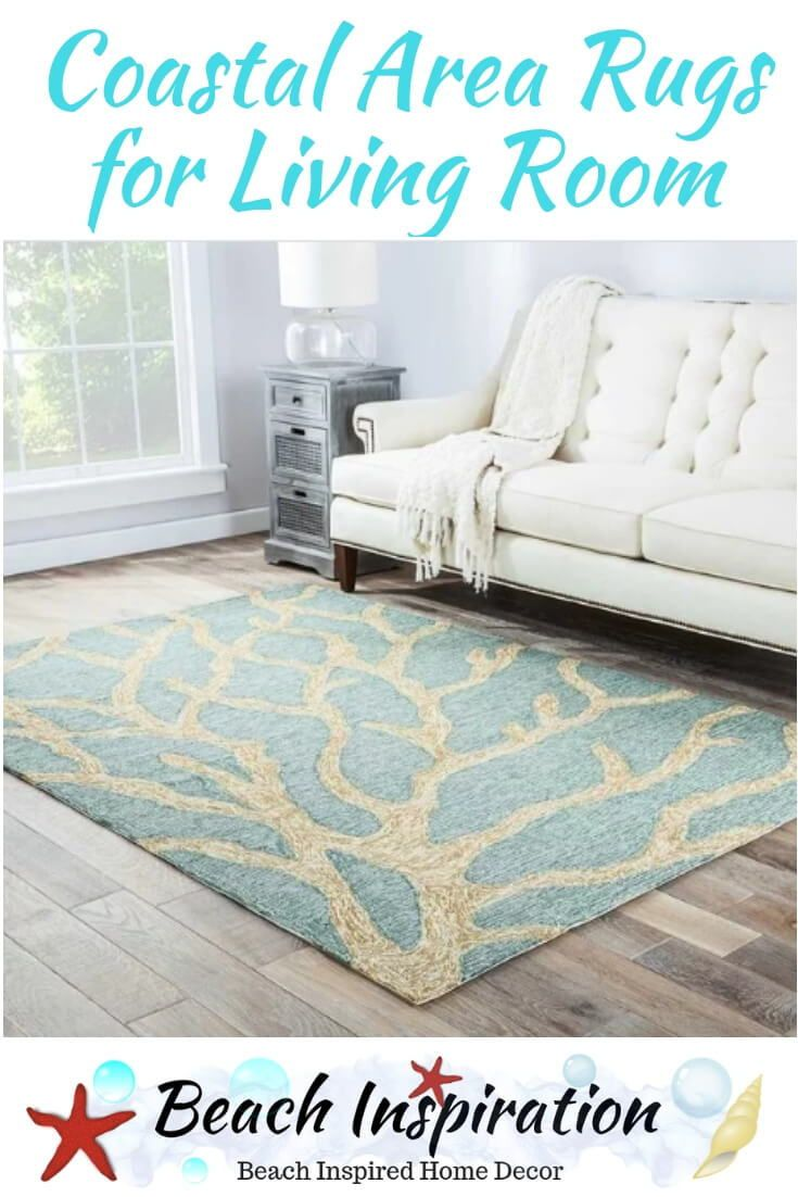 Coastal Area Rugs For The Living Room
