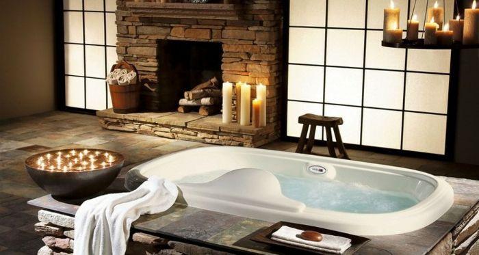 ▷ 1001 + idées pour créer une salle de bain nature House