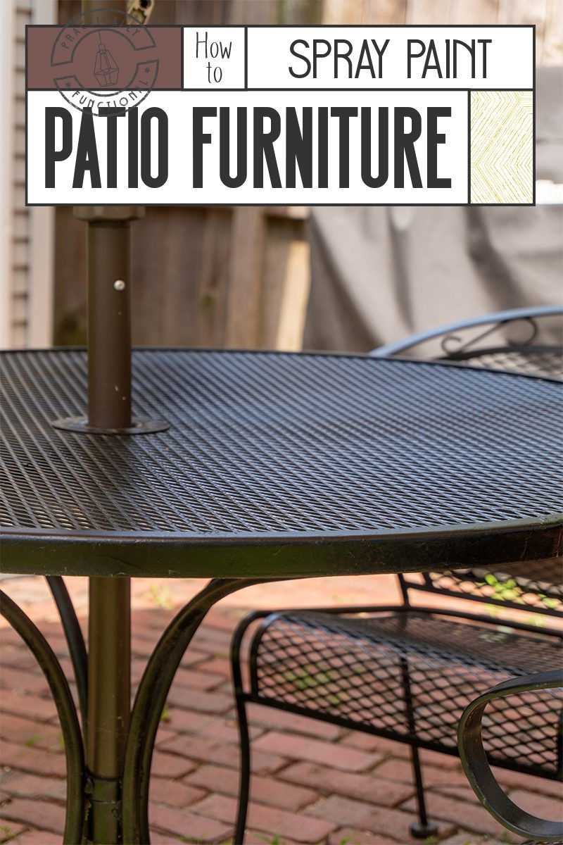 How To Spray Paint Patio Furniture Painting Patio Furniture Outdoor Furniture Makeover Painted Outdoor Furniture