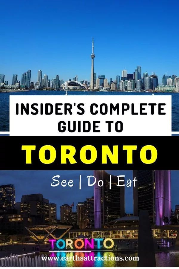 Read the best Insider's guide to Toronto, Canada with the best things to do in Toronto, where to eat in Toronto, and useful tips for Toronto. Discover what to do in Toronto, the famous Toronto landmarks, and off the beaten path places to visit in Toronto from this Toronto travel blog. Use this Toronto guide to create your Toronto bucketlist and your Toronto itinerary! #toronto #canada #travelguides #torontoguide #traveltips #traveldestinations #earthsattractions #thingstodo