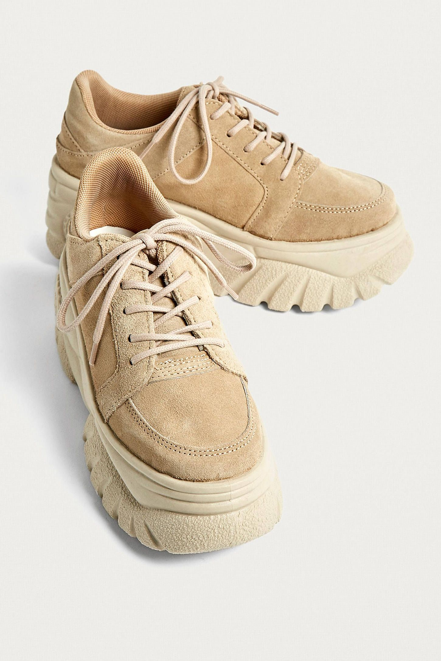 the best attitude ca627 1772e UO Tyson Tan Chunky Trainers   Urban Outfitters