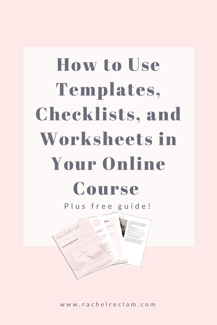 Adding Resources to Your Online Course: How to Use Templates