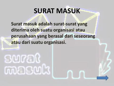 Smk Damosqu Prosedur Pengurusan Surat Masukkeluar Sistem