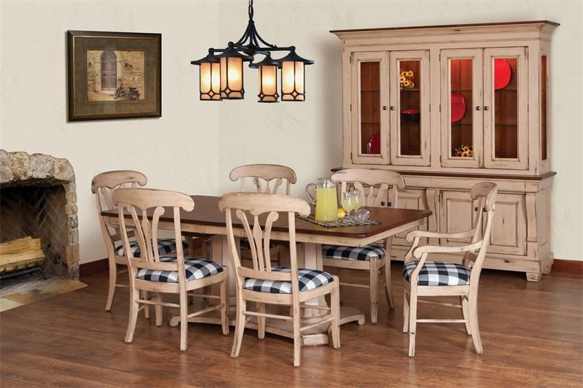 Amish Hartford Dining Room Table  French Dining Rooms Country Mesmerizing Country French Dining Room Set Design Inspiration