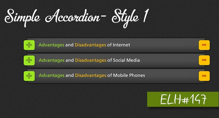 Simple Accordion Elh 147 Aman Vohra Pulse Linkedin With Images Instructional Design Elearning Design Accordion