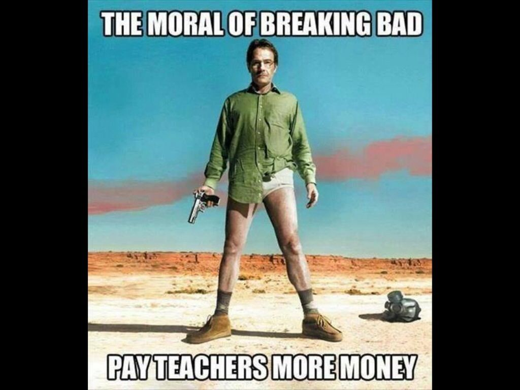 Image result for teachers salary meme