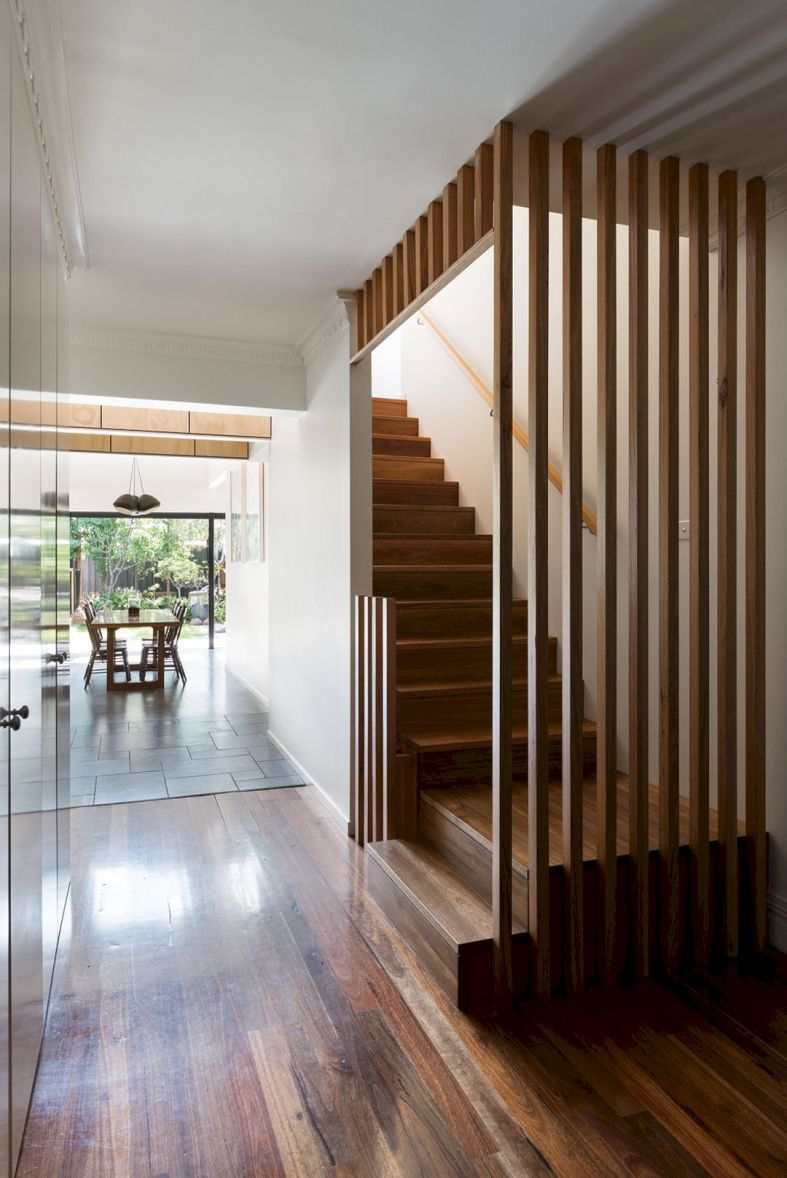 Photo of West Wing House: Simple Addition to A House with Modern Interior and Architectural Resolution