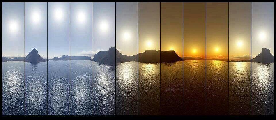 12 hours in one Photo ...