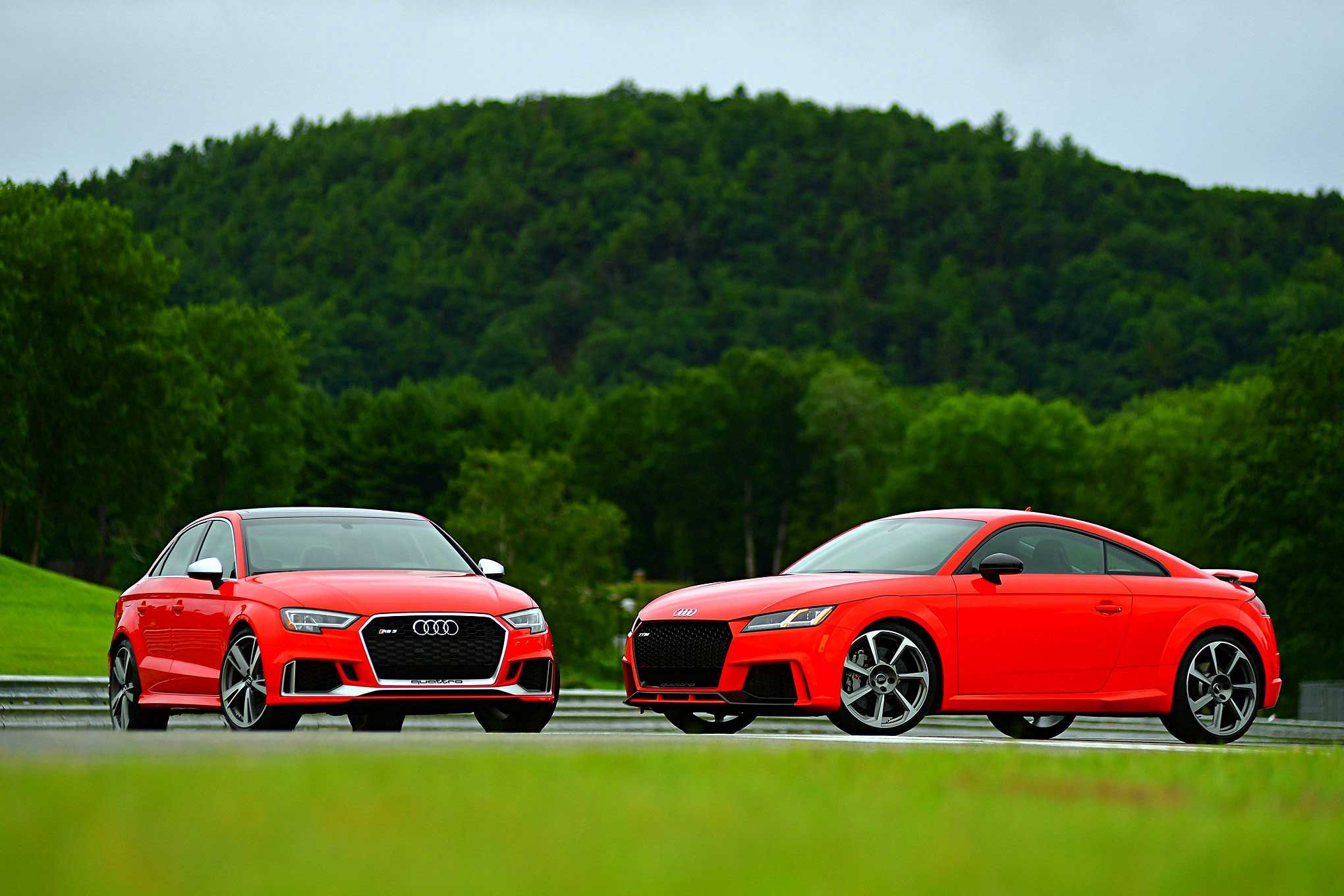 Five Cylinder Frenzy 2018 Audi RS3 & TT RS
