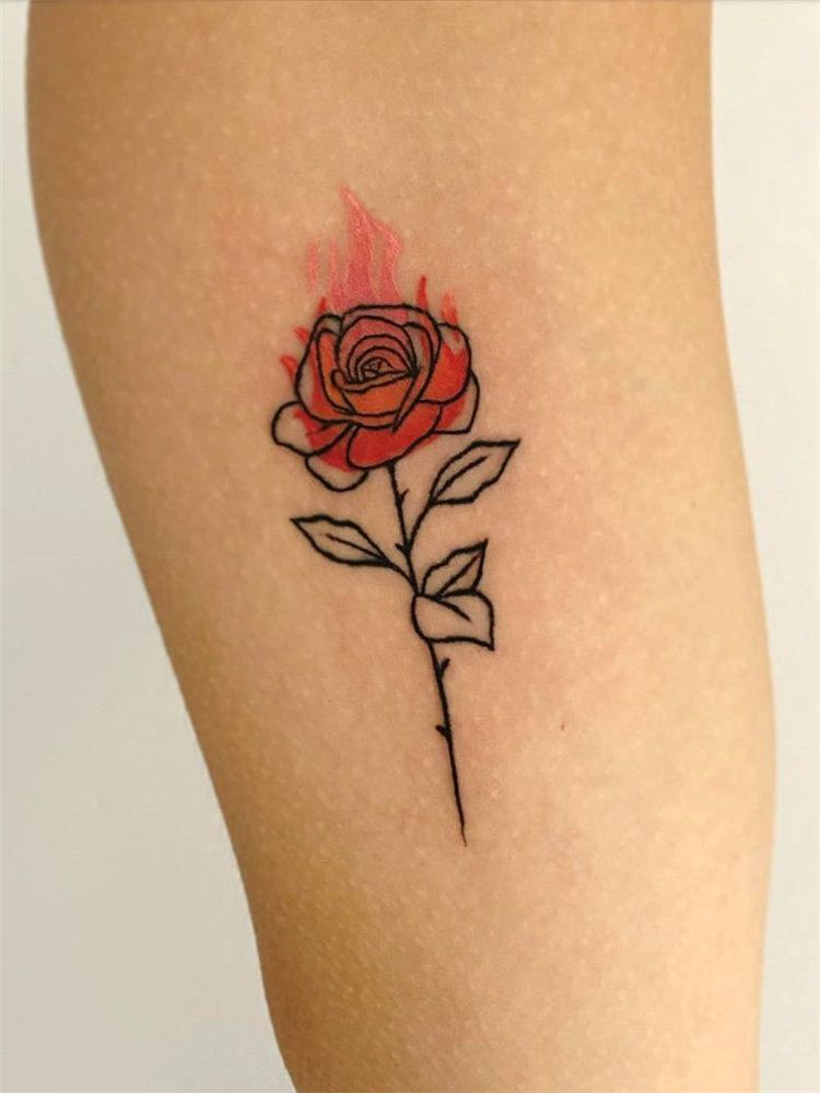 Photo of 30 Simple And Small Rose Tattoos For Women – Flymeso Blog