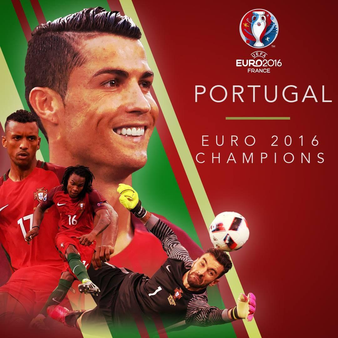 Selecoes De Portugal Are Euro2016 Champions Portugal 1 0