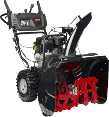 Craftsman Snow Blower 52541 204cc 24 In Two Stage Gas Gas Snow
