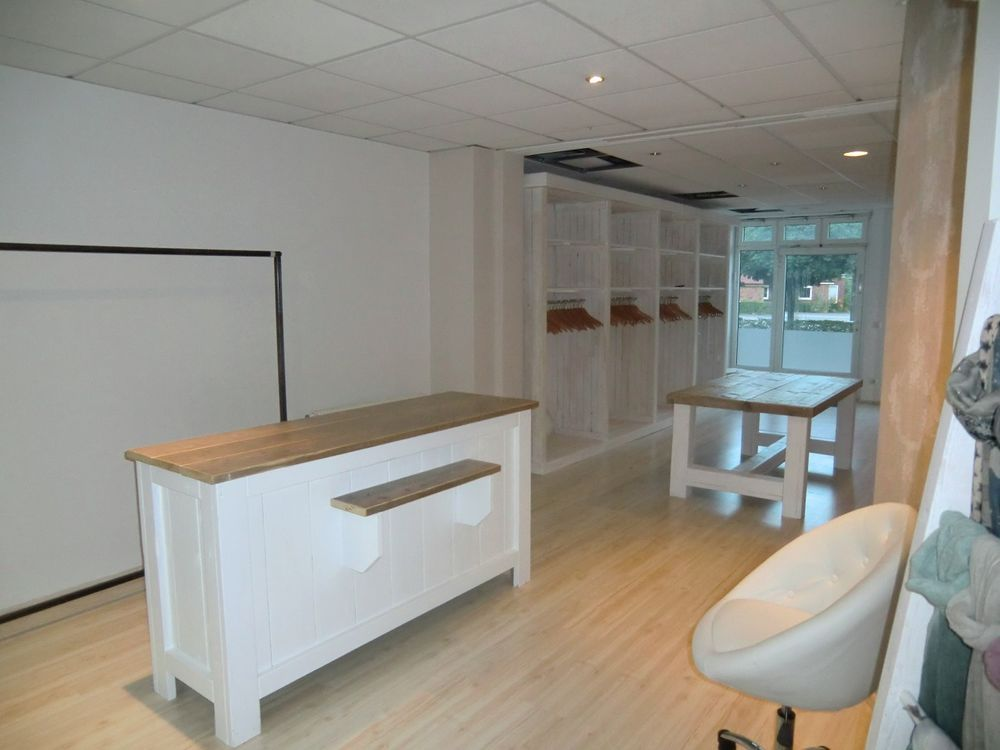 Ordentlich ladenbau Bauholzmöbel Ladentische Ladentheke Tresen Regale  FY65