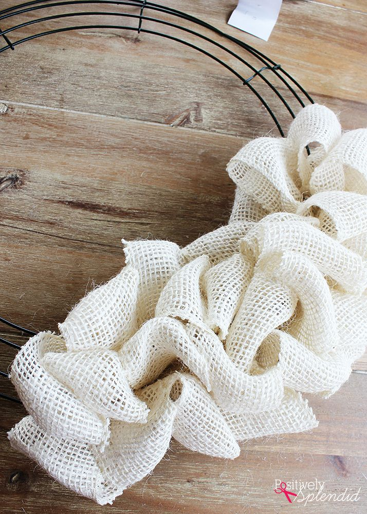 Photo of DIY Burlap Wreath Tutorial – So easy and fun to make!