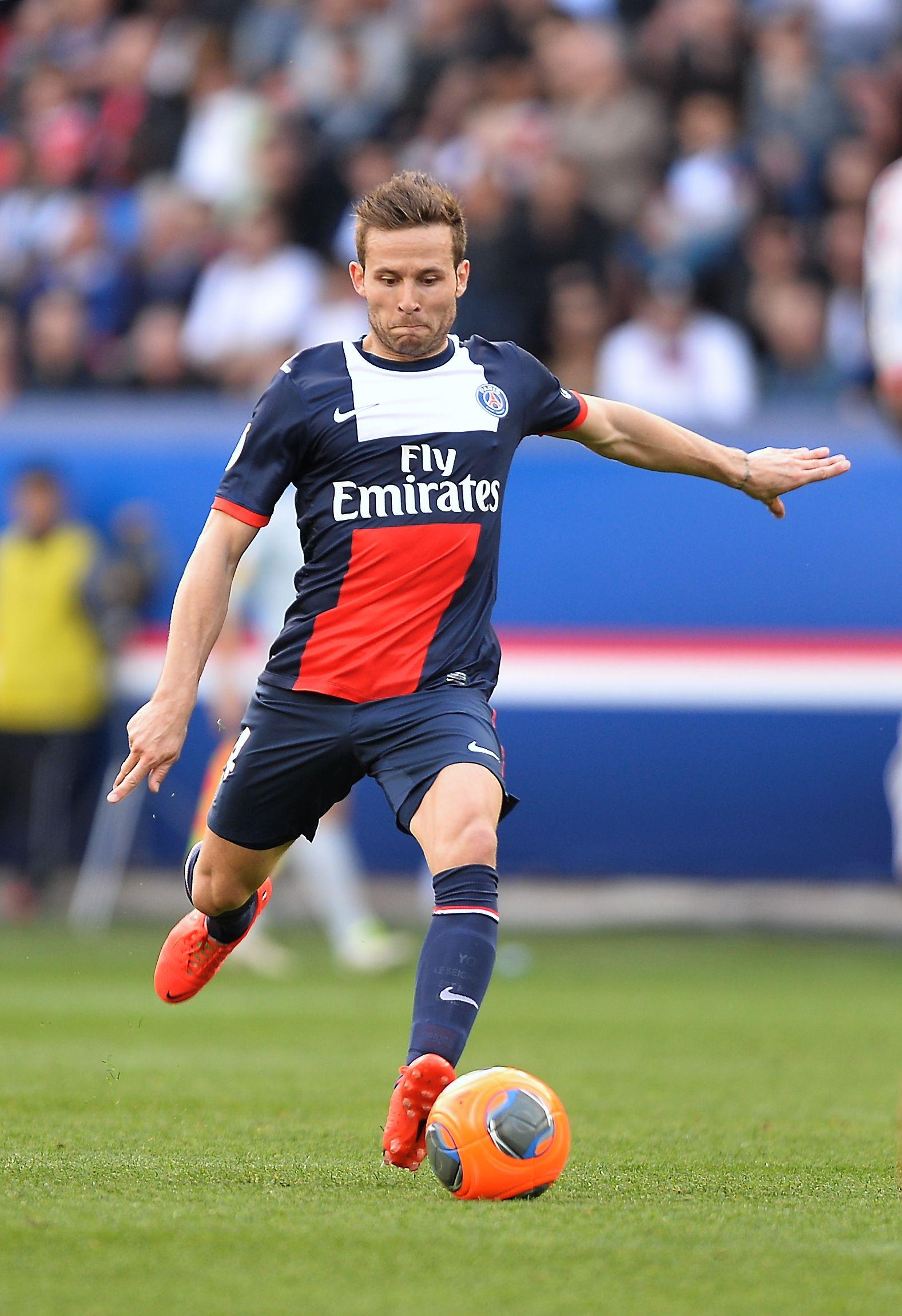 Yohan Cabaye PSG La parisienne