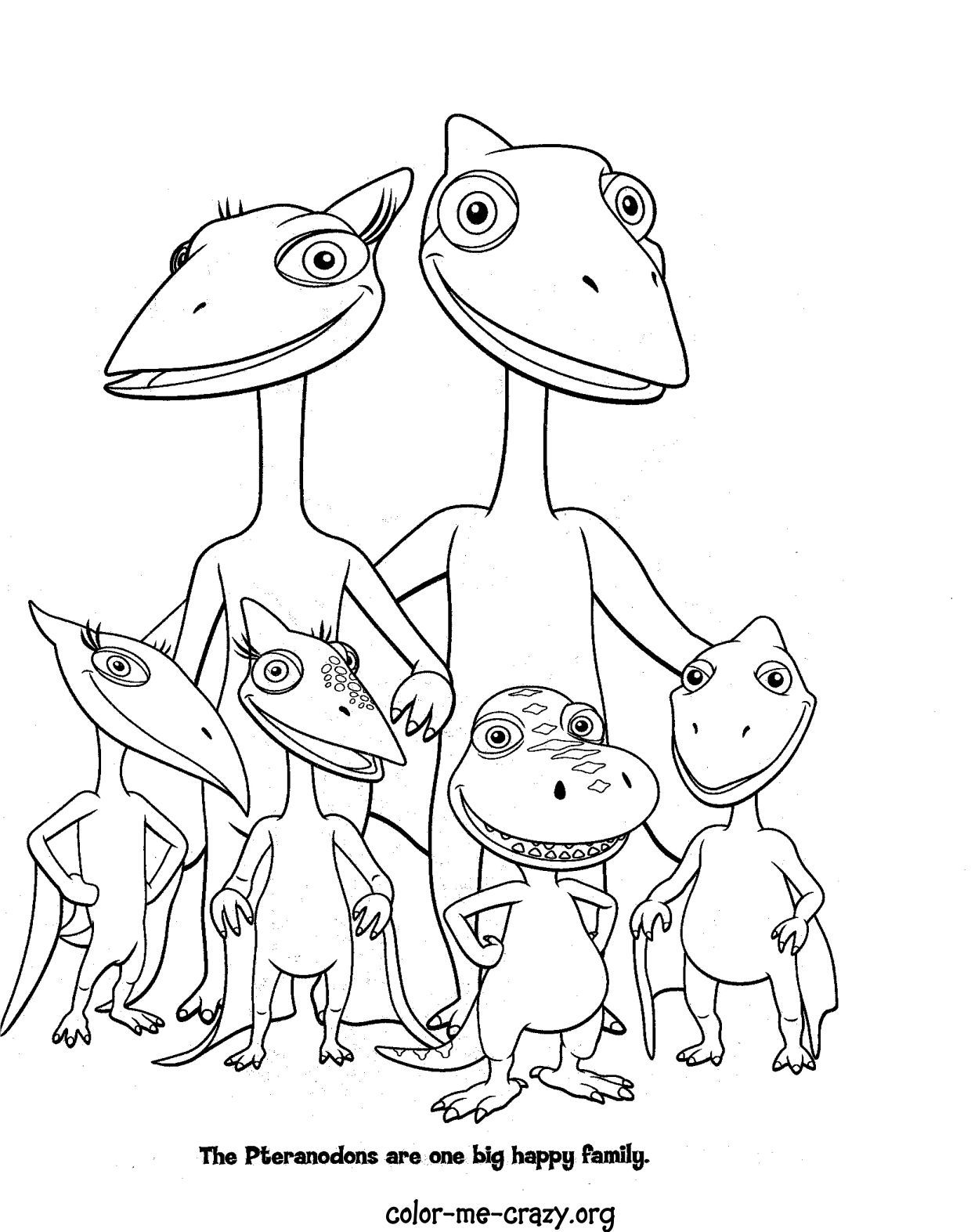 Dinosaur Train Colouring Dinosaur Coloring Pages Train Coloring