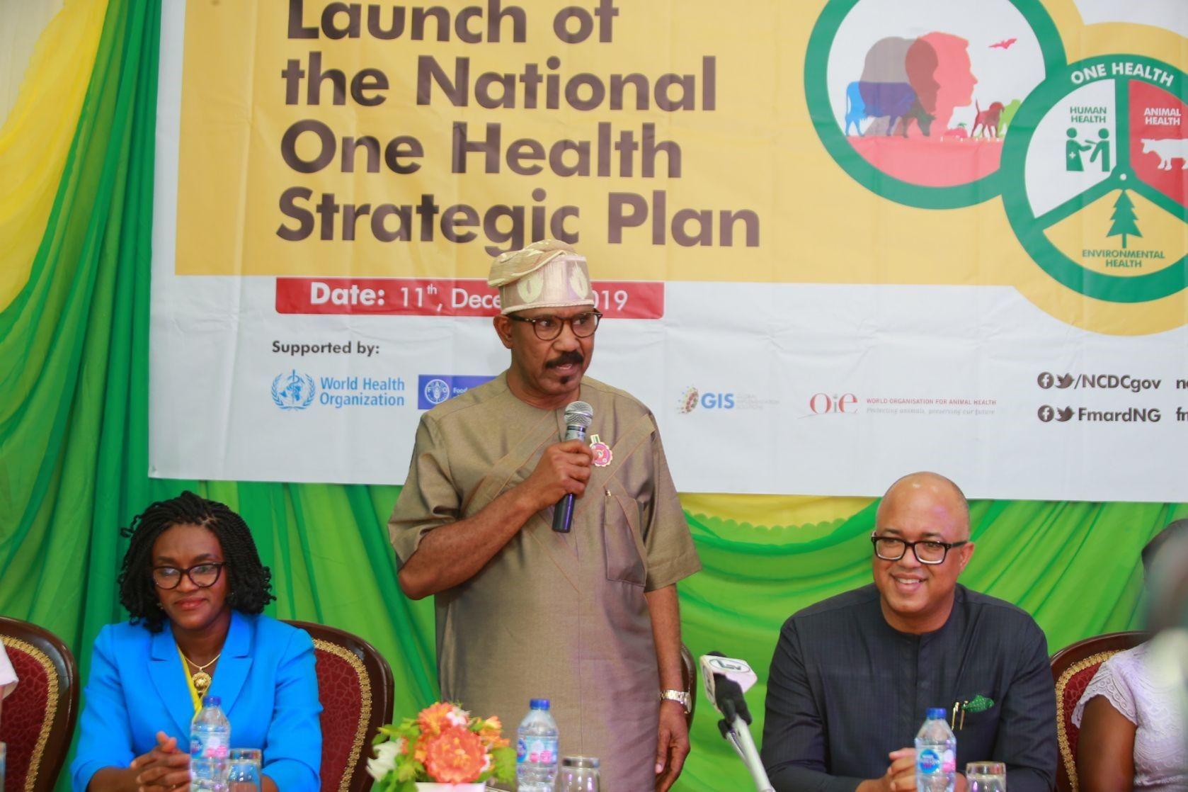Nigeria launches One Health strategic plan First health