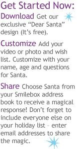 Dear Santa Letter - Smilebox
