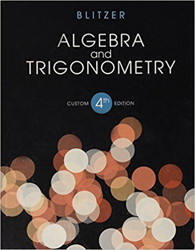 Algebra and Trigonometry 4th Ed: Null Pearson Education ...