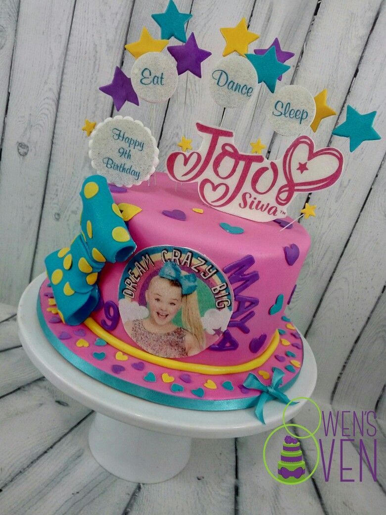 JoJo Siwa Birthday Cake | Cakes by Owen's Oven in 2019 | Jojo siwa ...