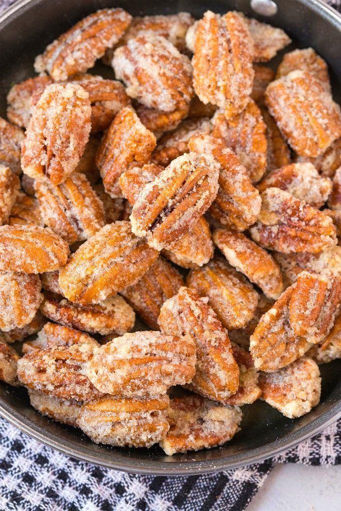 Easy Stovetop Sugar Free Candied Pecans (V, GF, Paleo ...